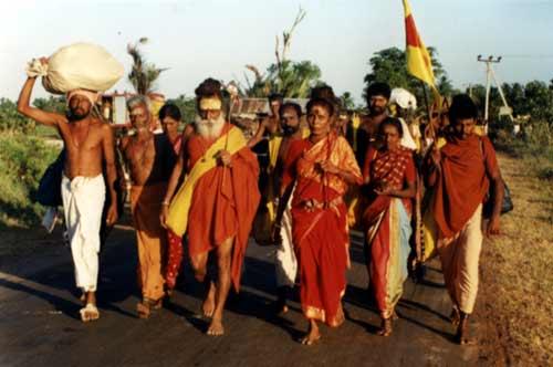Pada Yatra 2002 pilgrims