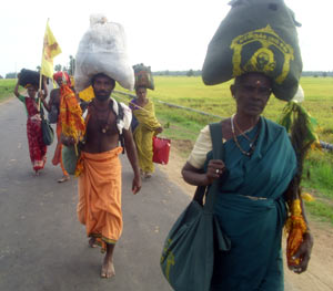Veteran foot pilgrims still know and practice the inherited traditions of Pada Yatra, but they are fewer and fewer